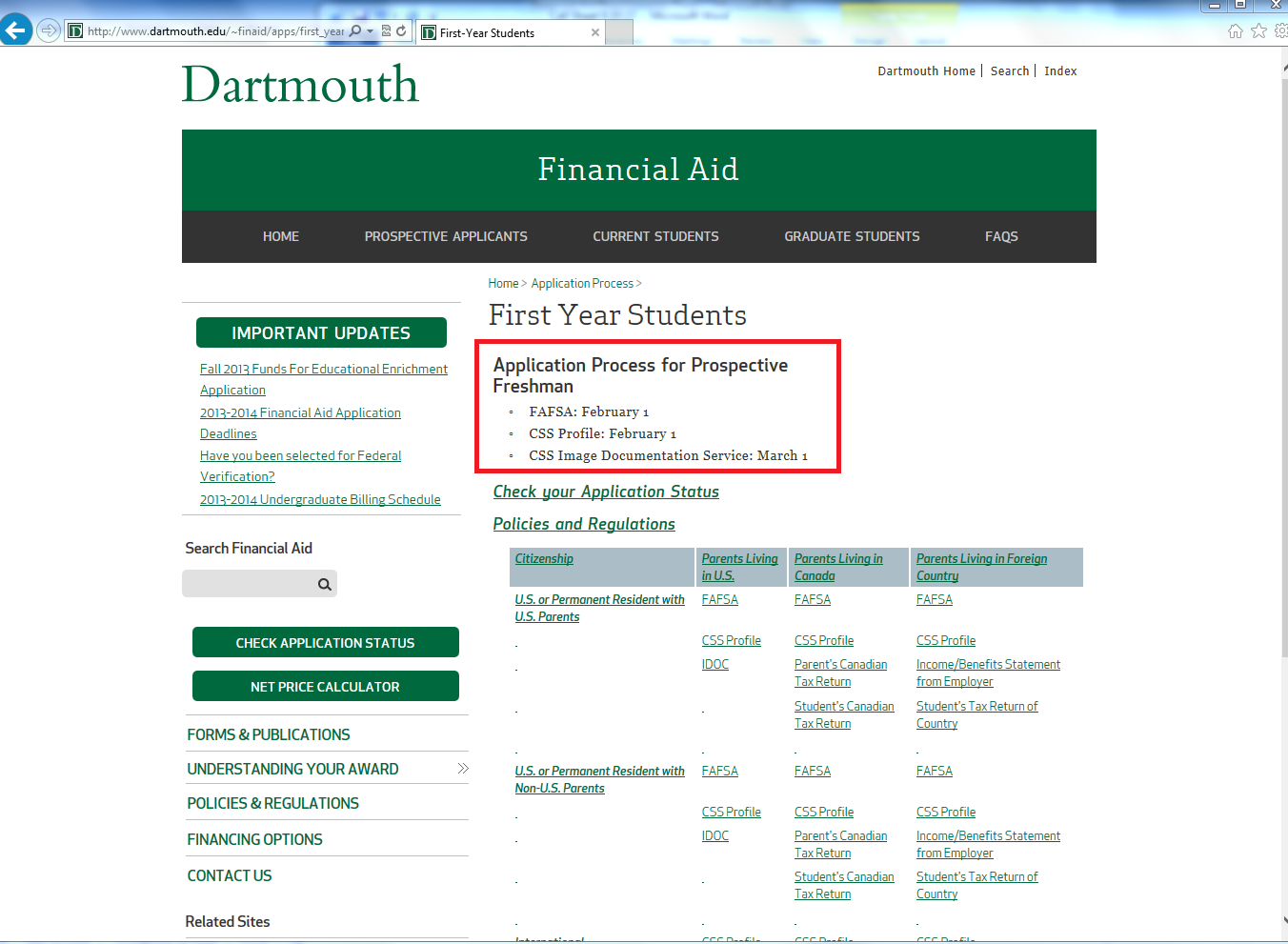 Dartmouth Financial Aid >> New Cummings Investigation Identifies More Than 100 Schools